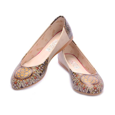 Mandala Ballerinas Shoes 1053