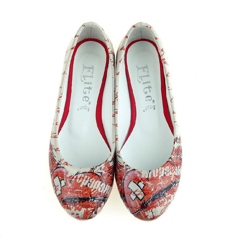 Wounded Heart Ballerinas Shoes 1063