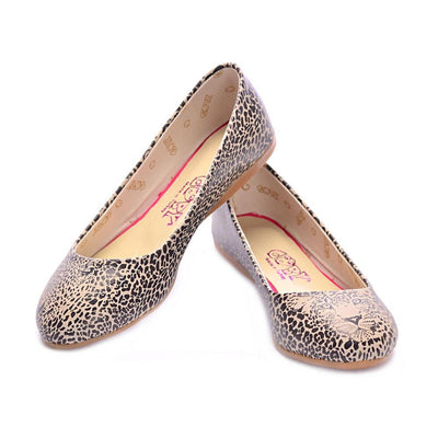Leopard Look Ballerinas Shoes 1089