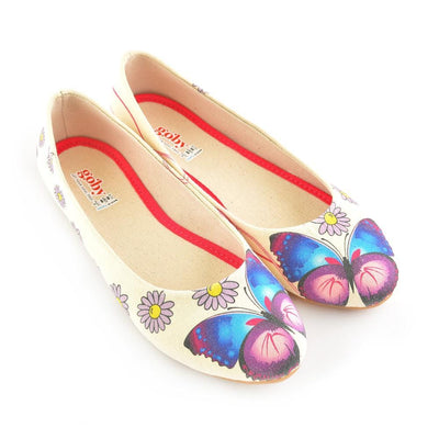 Daisy and Butterfly Ballerinas Shoes 1105