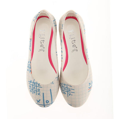 Sudoku Ballerinas Shoes 1117