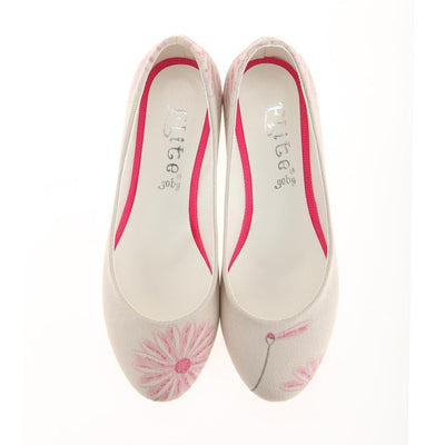 Flower Ballerinas Shoes 1121