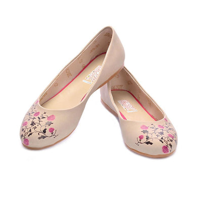 Roses Ballerinas Shoes 2016