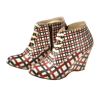 Squares Ankle Boots BT202