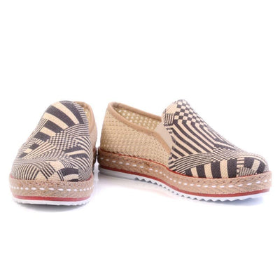 Pattern Slip on Sneakers Shoes DEL106