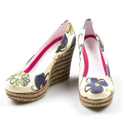 Flowers Heel Shoes DLG4503