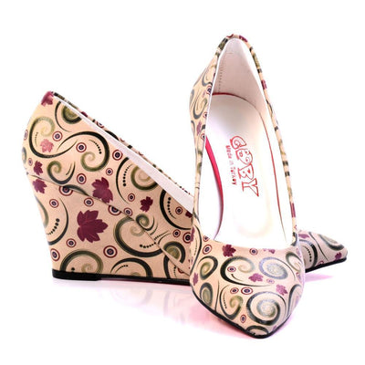 Leaves Heel Shoes DSTL505