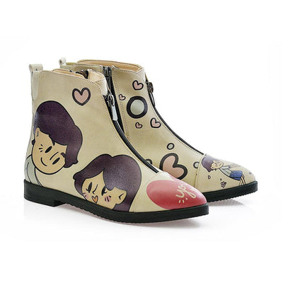 Sweet Couple Ankle Boots FER109