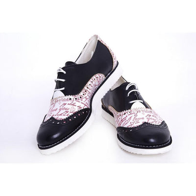 I Love You Oxford Shoes GNG101