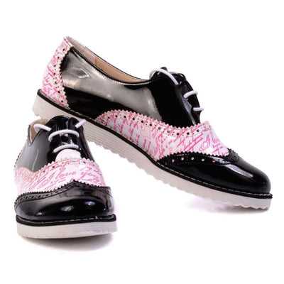 I Love You Oxford Shoes GNG201