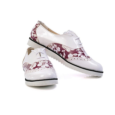 Flowers Oxford Shoes GNG302