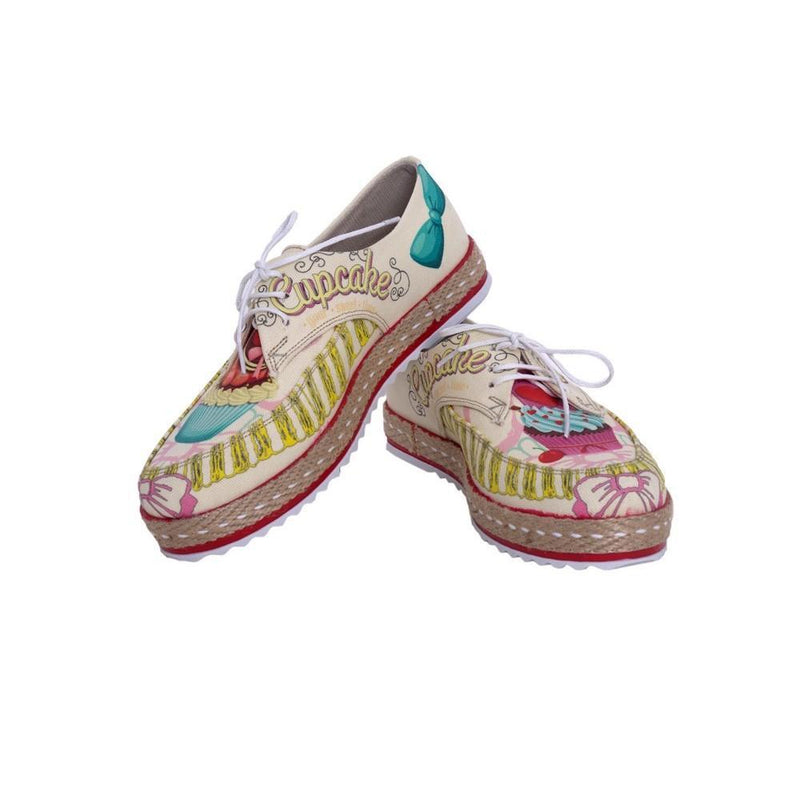 Cupcake Slip on Sneakers Shoes HSB1684