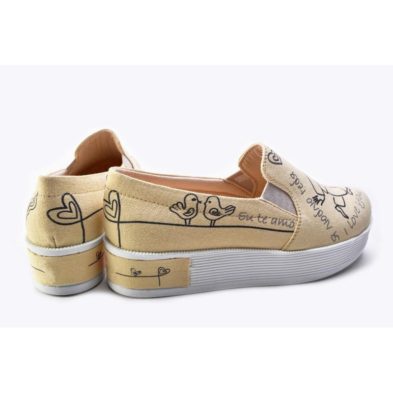 Slip on Sneakers Shoes KB1101