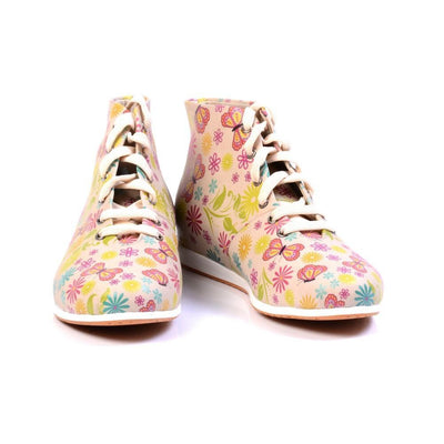 Flowers Short Boots LND1131
