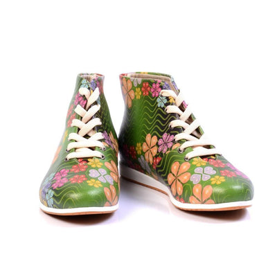 Flowers Short Boots LND1135