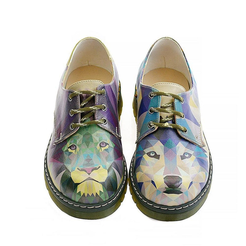 Lion and Wolf Oxford Shoes MAX110