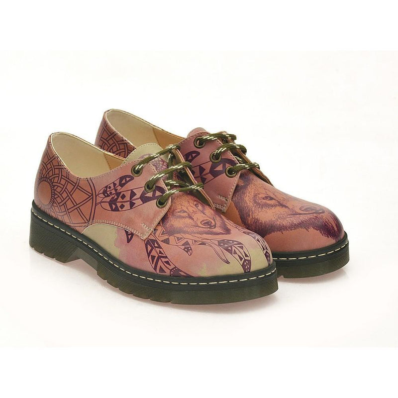 Wolf Look Oxford Shoes MAX120