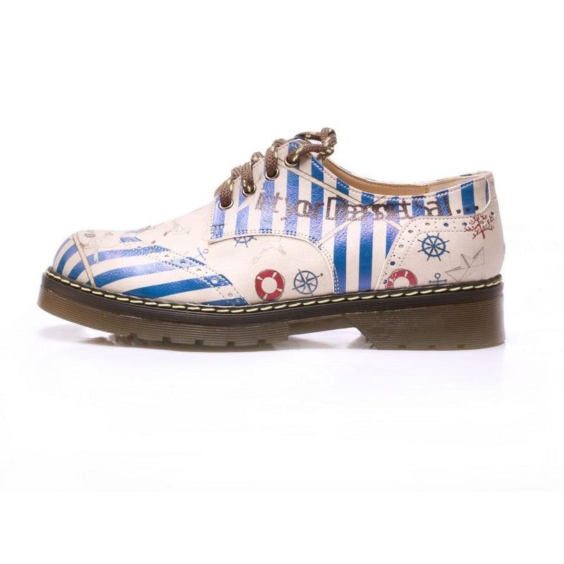 Let Your Dreams Set Sail Oxford Shoes MAX201