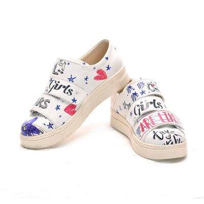 Cool Girl Slip on Sneakers Shoes NAC107