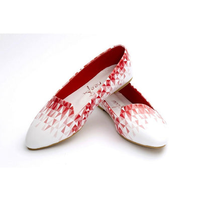 Pattern Ballerinas Shoes NBL216