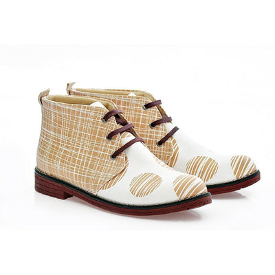 Pattern Ankle Boots NHP114