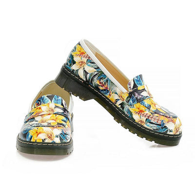 Flowers Oxford Shoes NMOX102