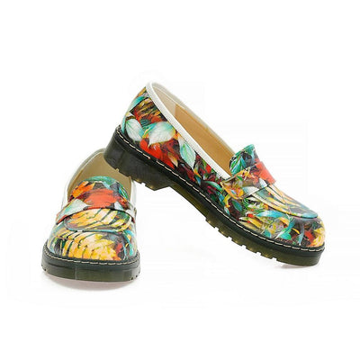 Flowers Oxford Shoes NMOX105