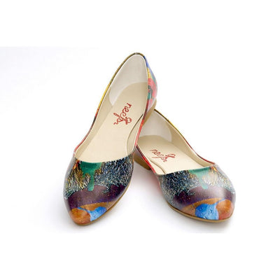Pattern Ballerinas Shoes NSS358