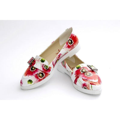 Flowers Slip on Sneakers Shoes NTS411