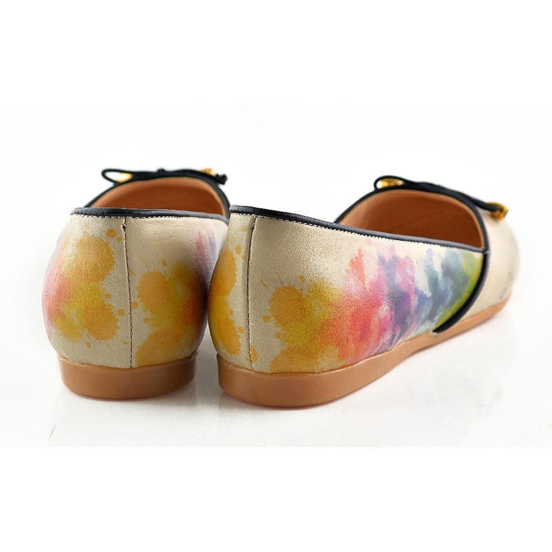 Flamboyant Elephant Ballerinas Shoes OMR7109