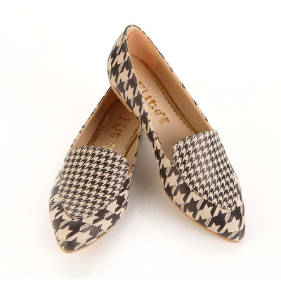 Pattern Ballerinas Shoes OMR7201