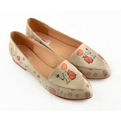 Smiley Kitten Ballerinas Shoes OMR7213