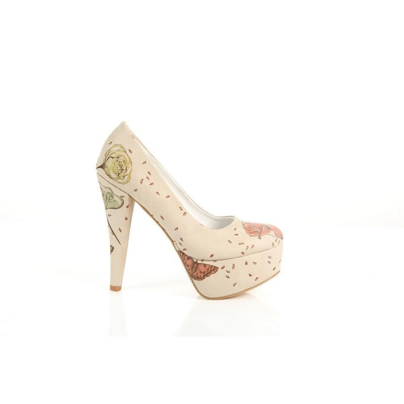 Rose Heel Shoes PLT2026