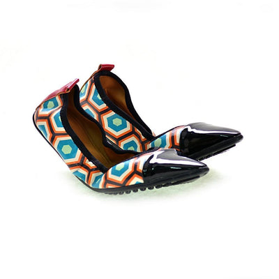 Pattern Ballerinas Shoes RAS2612