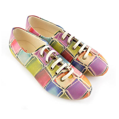 Colored Stones Ballerinas Shoes SLV019
