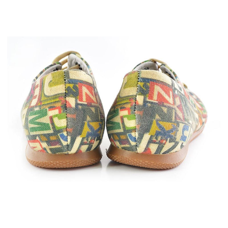 Numbers and Letters Ballerinas Shoes SLV031
