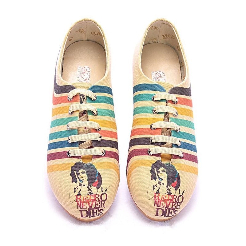 Retro Never Dies Ballerinas Shoes SLV037