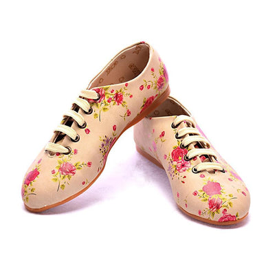 Flowers Ballerinas Shoes SLV046