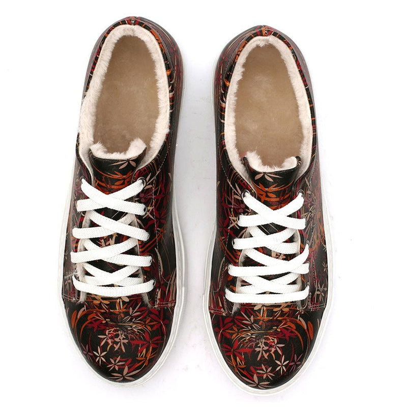 Flowers Slip on Sneakers Shoes SPR111