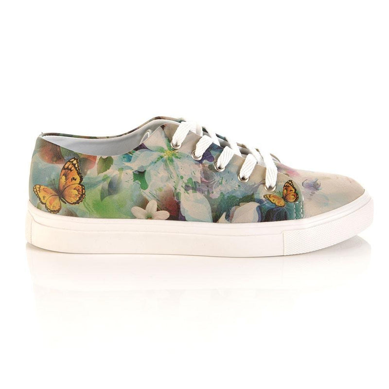 Flower Woman Slip on Sneakers Shoes SPR5003