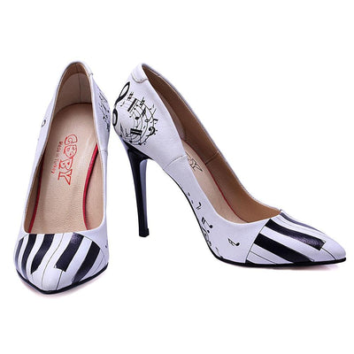 Piano Heel Shoes STL4401