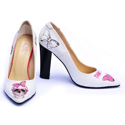 Cute Skull Heel Shoes STL4504