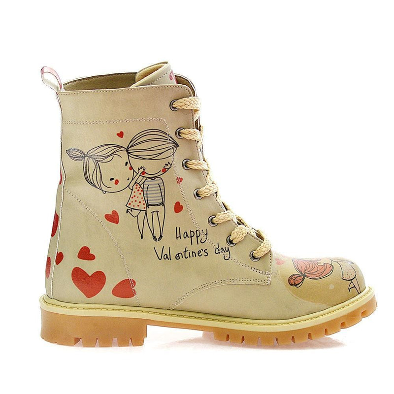 Happy Valentines day Long Boots TMB1037