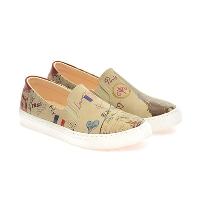 Paris Slip on Sneakers Shoes VN4002