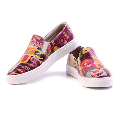 Jazz Music Slip on Sneakers Shoes VN4029