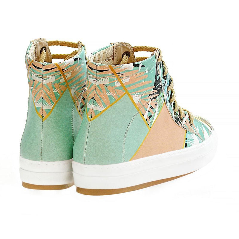 Palm Tree Sneaker Boots WCV2029