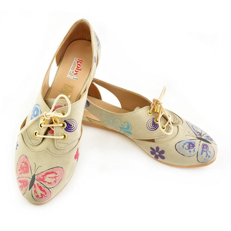 Flowers Ballerinas Shoes YAB107