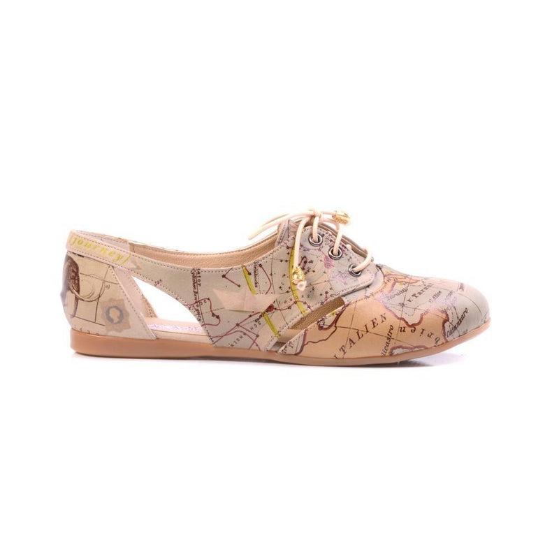 Map Ballerinas Shoes YAB108
