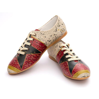 Retro Star Ballerinas Shoes SLV021