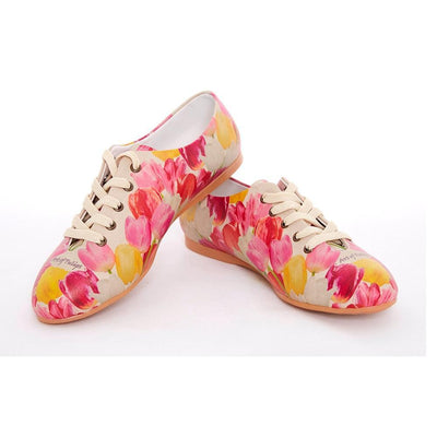 Roses Ballerinas Shoes SLV057